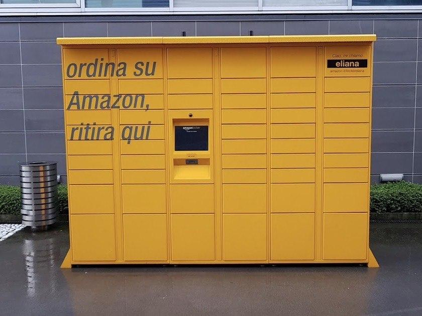 100 Amazon Locker per FerrovieNord